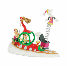 Dept 56 Grinch Village Who's wtih Their Toys 4020717 DR. Seuss NEW NIB