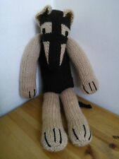 Sock Dog  Izzy the Lurcher / Greyhound Knitting Pattern / Toy