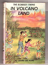 THE BOBBSEY TWINS IN VOLCANO LAND  Picture Cover  ex++   1961