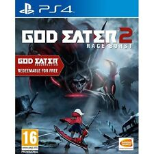 God Eater 2 Rage Burst PS4 Game (Includes God Eater Resurrection) Brand New