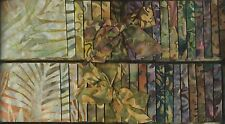 DUO of PRETTY BATIK JELLY ROLLS ~ A nice collection of fabrics for QUILT BLOCKS