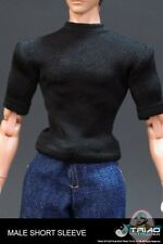 Male Black T-Shirt for 12 inch Figures by Triad Toys