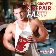 SPARTAN HEALTH PROTEIN POWDER DRINK RAPID MUSCLE RECOVERY MAX STRENGTH