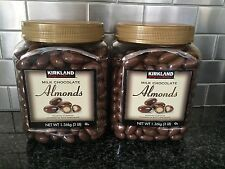 KIRKLAND Milk Chocolate Almonds Roasted almonds covered in milk chocolate 2ct