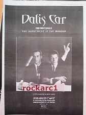 DALIS CAR (Mick Karn,Japan) Mirror 1984 UK Poster size Press ADVERT 16x12 inches