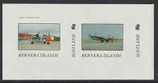 GB Locals - Bernera 2849 - AIRCRAFT imperf sheetlet unmounted mint