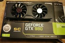 EVGA GeForce GTX 980 SC Superclocked 4GB GDDR5 PCIE 04G-P4-2983-KR EXCELLENT