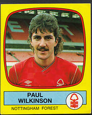 Panini Football 1988 Sticker - No 194 - Nottingham Forest - Paul Wilkinson