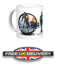 BATTLEFIELD 4 Personalised Gamertag Mug Coffee Tea Cup Gift Game PS3 XBOX PC PS4