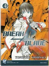 GP MANGA BREAK BLADE NUMERO 4 (sconto 20%)