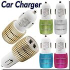 Dual USB 2-Port Car Charger Adapter 3.1A 12v for iPhone Samsung HTC iPad Nokia
