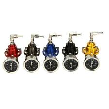 High Quality Ajustable NA Turbo Car Fuel Pressure Regulator With Oil Gauge ZZ9B