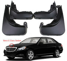 OEM Splash Guards Mud Guards Flaps For 13-2016 Mercedes Benz E Class Sedan W212