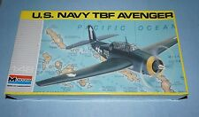 Monogram US Navy TBF Avenger Airplane 1/48 scale #5210 Factory Sealed