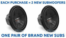 "2) Pioneer TS-W311D4 1400 Watt 12"" Dual 4 ohm Subwoofers Car Audio Stereo Subs"