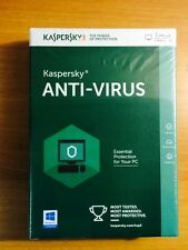 Kaspersky Antivirus 2016 1 PC/User 1Year License Key Code Retail Card + CD