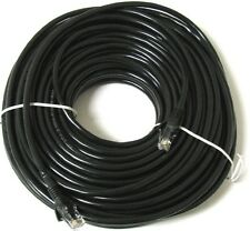 15M Meter Black Network Ethernet RJ45 Cat5E UTP PATCH Internet/LAN Cable Lead