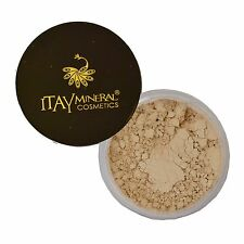 "ITAY 100% Natural Mineral Foundation MF-7 ""ITALIAN BISCOTTI""+Free Eye Liner"