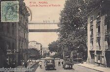 Madrid AK 1916 Calle de Segovia y el Viaducto Brücke Spanien Espana 1605219