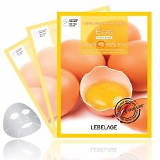 EGG Skin Care Face Mask Sheets Pack Essence beauty Moisture Cosmetic 3Pc