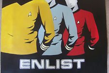 Star Trek Oil Painting NOT giclee 20x20 Starfleet Academy Klingon Enterprise