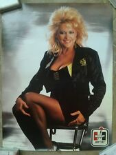"LINDA VAUGHN POSTER 18""X24"" MISS HURST  SHIFTERS MR. GASKET CO. *NEW*"
