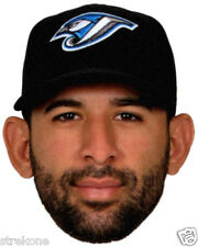 JOSE BAUTISTA Toronto Blue Jays MLB Slugger -Big Head Window Cling Decal Sticker