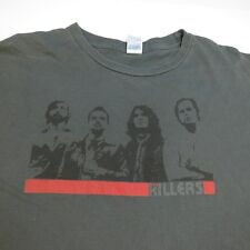 THE KILLERS CONCERT TOUR TEE T SHIRT Sz Mens XL Brandon Flowers Dave Keuning