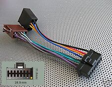 PIONEER RADIO 16PIN POWER SPEAKERS WIRE HARNESS ISO 1601