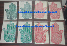 8 pcs = 4 pair Henna Hand Rubber Reusable Stencil for Body Art paint Tattoo