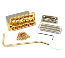 "Gold Steel Block 6-point 2-3/16"" Vintage Tremolo Kit Fender Strat® SB-5208-L02"