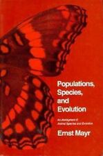 Populations, Species, and Evolution: An Abridgment of  i Animal Species and Evo