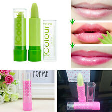 2PCS 2015 Waterproof Magic Fruity Smell Changable Color Lipstick Lip Cream Balm