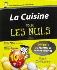 La Cuisine pour les Nuls - Bryan Miller - Hélène Darroze - Pack Collector -