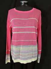 Ann Taylor LOFT Sweater Medium Pink Top M Loose Knit Sweater New NWT
