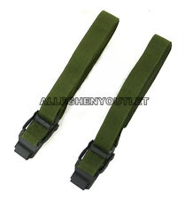 "QTY (2) US Military ALICE Pack Lashing Tie Down CARGO STRAPS 52"" NEW"