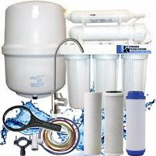 Premier Reverse Osmosis 5 stage 150 GPD with manual flush valve Designer faucet