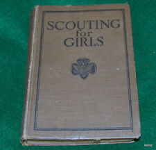 VINTAGE GIRL SCOUT - SCOUTING FOR GIRLS 1926 - NINTH REPRINT