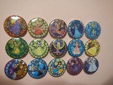 "Disney Princess Crafty Cute 1"" Craft Flatback Button Cabochon  Embellishments"
