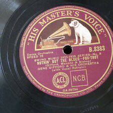 78rpm GENE GIFFORD nothin but the blues / dizzy glide