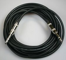 "Balanced 20' 1/4"" to 1/4"" Stereo (TRS) Cable Footswitch"