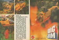 X9451 Elicottero di BIG JIM - Pubblicità 1977 - Advertising