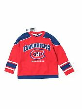 New Boy Youth Montreal Canadiens NHL Hockey Jersey Size 5 NO NAME