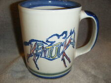 LOUISVILLE STONEWARE  MUG VINTAGE MADE IN KENTUCKY TONY TODD INVESTMENTS ADV.USA