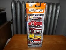 MATCHBOX EMT 5- CAR PACK, NEW IN PACKAGE, 2012