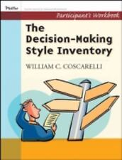 Decison-Making Style Inventory, Participant's Workbook (Pfeiffer Essential Resou