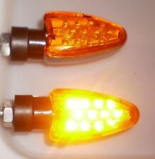 2X LED Yellow Turn signal lamp DUCATI 748 749 999 916 996 998 1098 848  Monster
