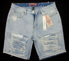 FOREVER 21 MENS DENIM JEANS VINTAGE DISTRESSED SHORTS SIZE 30