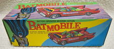 BATMAN Battery Operated MYSTERY ACTION BATMOBILE TIN LITHO High Grade RARE MIB