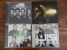 JLS discography CD bundle, 4 albums